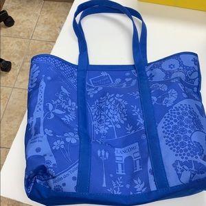 Lancôme blue tote bag
